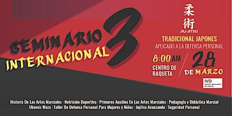 Tercer Seminario Internacional Jujitsu A.D.P boletos