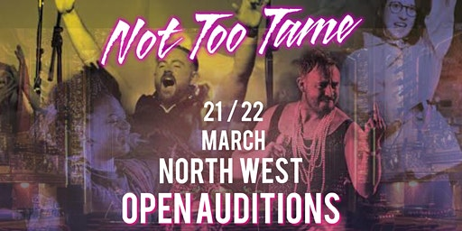 NTT Open Auditions - North West, WARRINGTON.