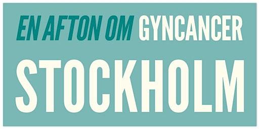 En afton om gyncancer – Stockholm 27 april