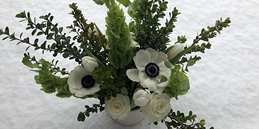 St. Patrick's Day Floral Arranging