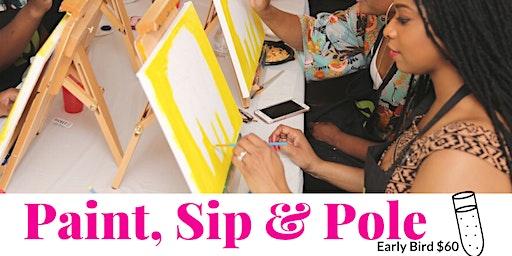 Paint, Sip & Pole
