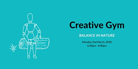 Creative Gym - find your balance in nature tickets