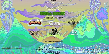 Mountain Music & Arts Festival tickets