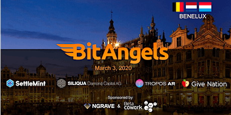 BitAngels Benelux March 2020, in Brussels tickets