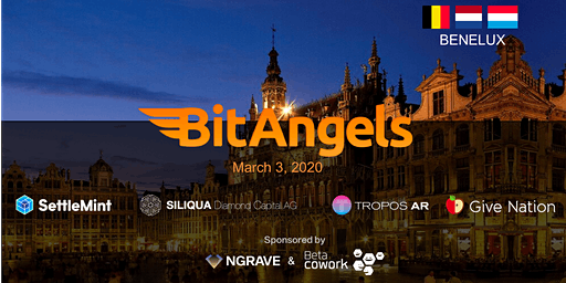 BitAngels Benelux March 2020, in Brussels