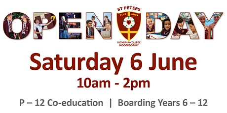 St Peters Open Day 2020 tickets
