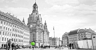 October 2020, Dresden Walking Tour with DresdenWalks