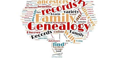 Genealogy 101 Series: Workshop 17 - Personal Family Records tickets