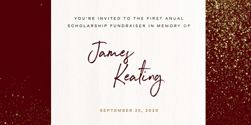 James Keating Scholarship Fundraiser