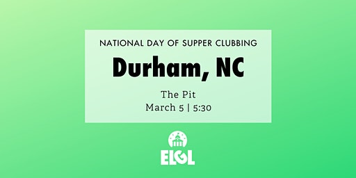 #NDOSC: Durham, NC
