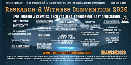 Research And Witness Convention (#RAWCON2020) tickets
