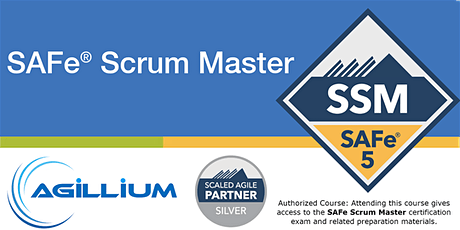SAFe® Scrum Master With SAFe®5 Scrum Master Certification tickets