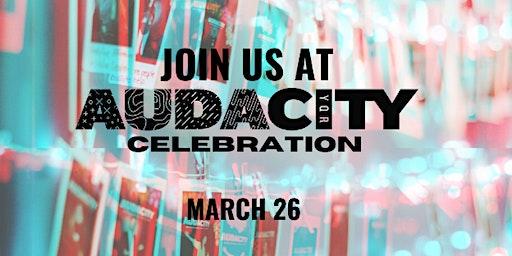 AUDACITY YQR 2020 Celebration