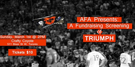 AFA Presents: A Fundraising Screening of TRIUMPH tickets