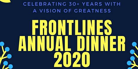 Vision of Greatness- Frontlines Annual Dinner 2020 tickets