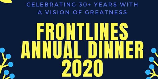 Vision of Greatness- Frontlines Annual Dinner 2020