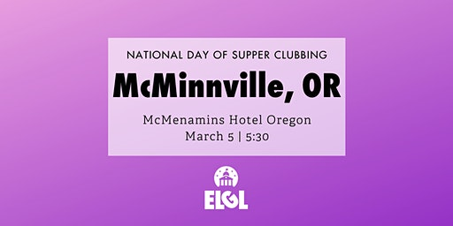 #NDOSC: McMinnville, OR