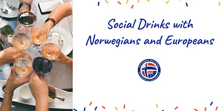 Social drinks with Norwegians and other Europeans tickets
