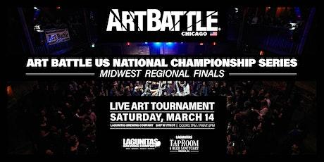 Art Battle Midwest Regional Finals - March 14, 2020 tickets