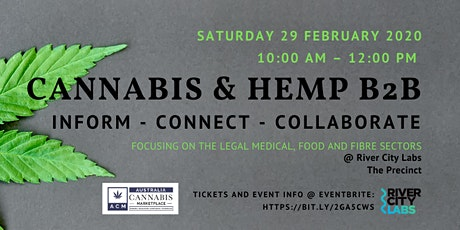 Cannabis & Hemp Business to Business Collective tickets