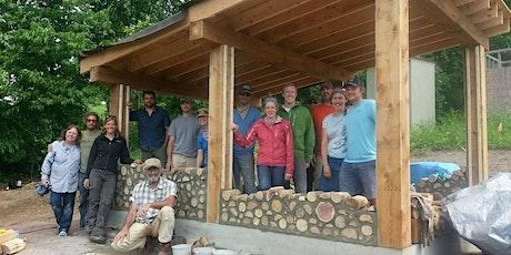 Building a Cordwood Sauna + Bonus Cob Oven Workshop tickets