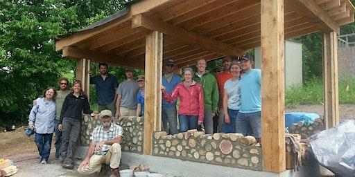 Building a Cordwood Sauna + Bonus Cob Oven Workshop
