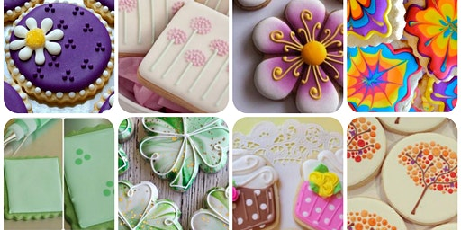 """""""Blooming Luck"""" Cookie Decorating Class"""