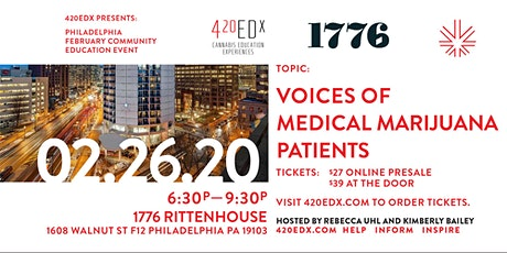 420EDx: Philly February Community Education Event tickets