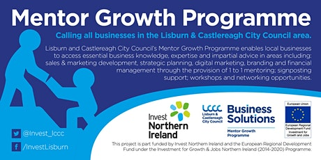 POSTPONED Business Information Session to Launch of Mentor Growth Programme tickets