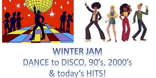 WINTER JAM, Dance to disco, 90's and today's hits for the PMC 2020!