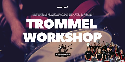 TROMMEL-Workshop mit den SomeDrums!