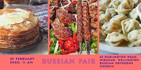 RUSSIAN FOOD FAIR AND GARAGE SALE tickets