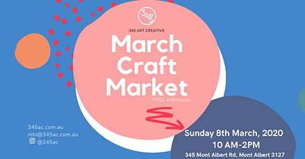 Craft Market! Sunday 8th March tickets