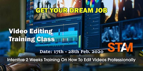 Video Editing Training tickets