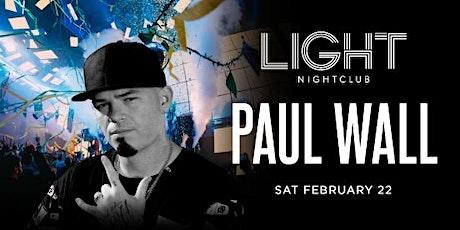 PAUL WALL AT LIGHT NIGHTCLUB tickets