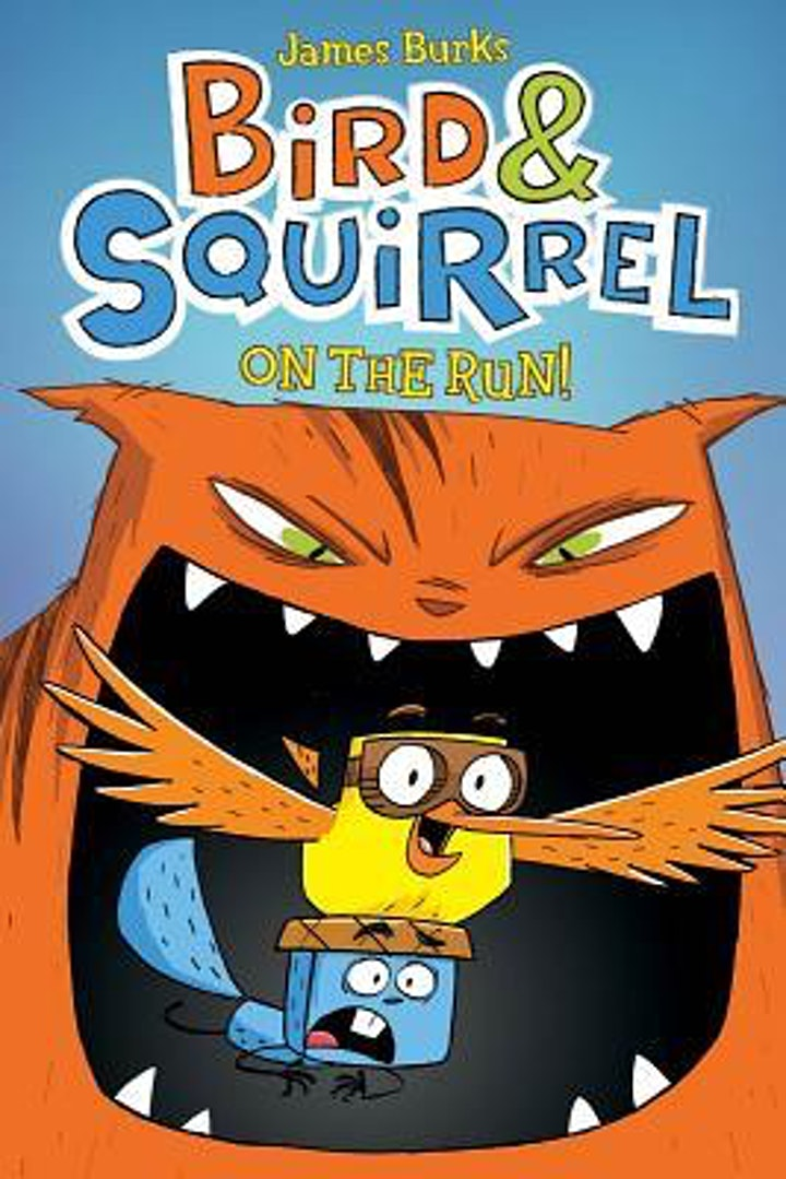 Bird & Squirrel Graphic Novelist, James Burks at Half Moon Bay Library image