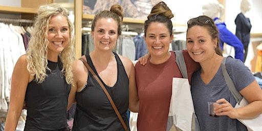 Shopping Party at Athleta Rookwood