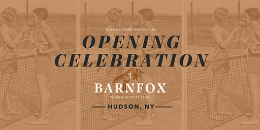 Barnfox Opening Celebration in Hudson, NY