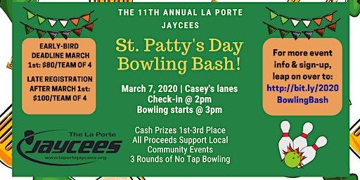2020 La Porte Jaycees St. Patty's Day Bowling Bash