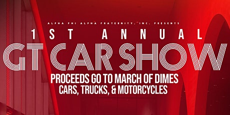 GT Car Show Pre-Registration Fee tickets