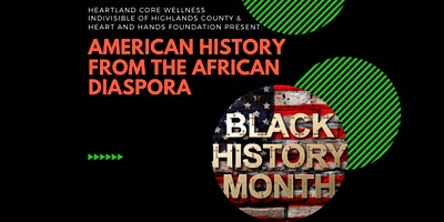 American History from the African Diaspora