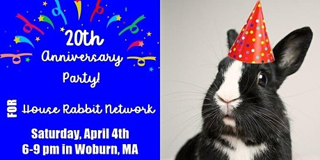 House Rabbit Network's 20th Anniversary Party tickets