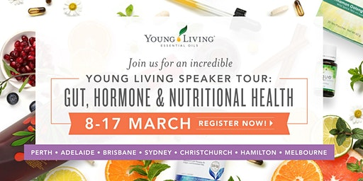 Young Living Speaker Tour: Gut, Hormone and Nutritional Health - MELBOURNE