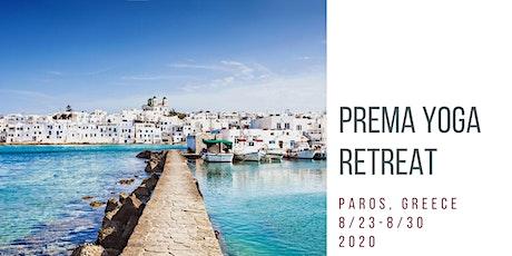 Yoga Retreat on the beautiful Island of Paros, Greece tickets