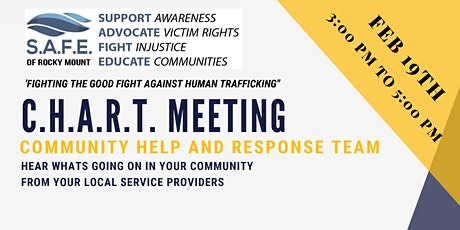 Monthly C.H.A.R.T Meeting (Community Help And Response Team) tickets