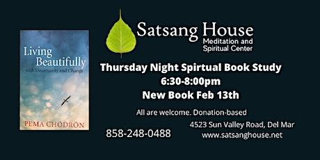 Thursday Night Spiritual Book Study tickets