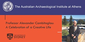 (Cancelled) Professor Alexander Cambitoglou: A...