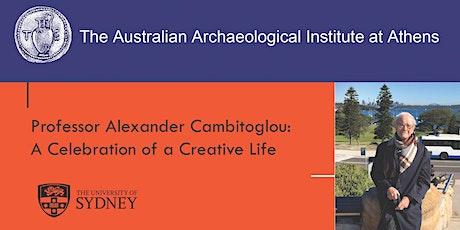 Professor Alexander Cambitoglou: A celebration of a life tickets