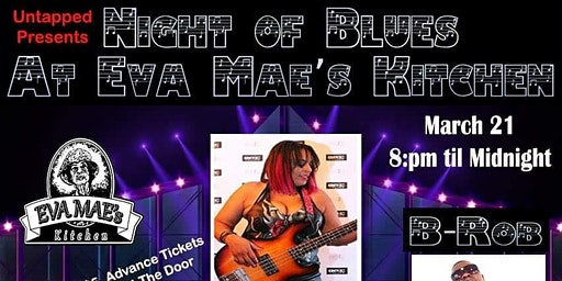 UNTAPPED PRESENTS: A NIGHT OF BLUES @ EVA MAE'S THE BACKYARD