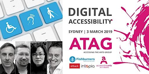 Digital Accessibility | ATAG Sydney 3 March